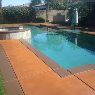 Concrete Pool Decks 29
